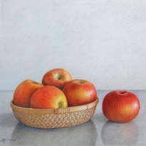 bodegón de manzanas-5