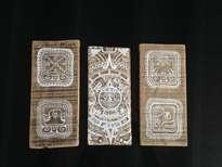 tríptico maya