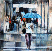 lluvia de paso