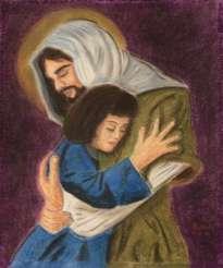 abrazo de jesus