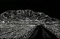 miradas en blanco y negro de redovan y su sierra