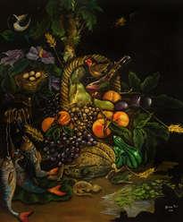 bodegón de fruta
