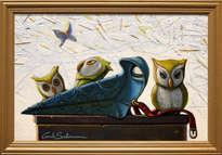 plague doctor owls- (enmarcado)