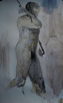desnudez - aquarella