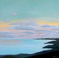 sunset in sa rapita bay