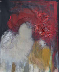 mujer de capelina