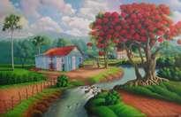 paisaje tipico dominicano