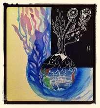 bulle de vie : arbre