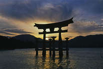 miyajima sunset - limited edition #1 of 25