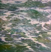 mar en movimiento