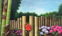 las hortensias de la huerta