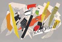 collage rasgado abstracto