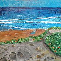 paseo cerca del mar