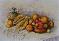 frutas y barro