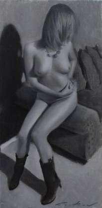 nude study - desnuda, desnudos, erotismo