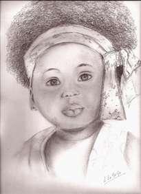 retrato de negrita