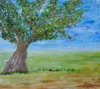 árbol en el campo