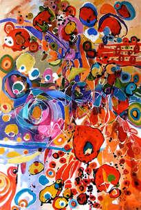 jocul primaverii,abstract, art, original