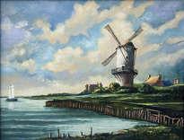 paisaje holandés.