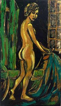 desnudo con ventana
