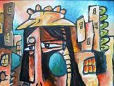 la pintora de la triste ciudad