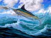 marlin low flying