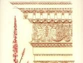 capiteles y flores - orden compuesto