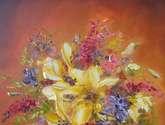 spring lilies bouquet