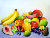 colourful fruit composition ii