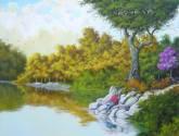 pescando a natureza