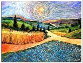 o trigo no camiño