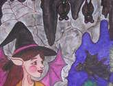bruxinha y los murciélagos
