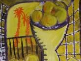 naturaleza muerta en amarillo