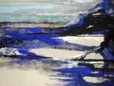abstracto en azul