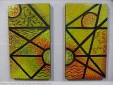 diptico en muralismo (texturas)