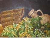 bodegon de uvas