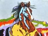 like a horse