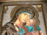 virgen bizantina