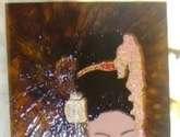 la geisha bajo el paragua