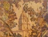 torre de la catedral desde el huerto de calixto y melibea.