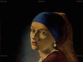 another girl with the pearl earring