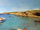 cala comta ibiza. oleo