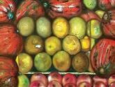 calabazas en el frutero