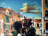 una caricia en venecia
