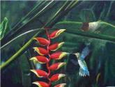 la flor de la heliconia