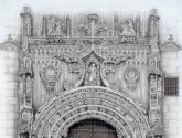 puerta del sagrario, catedral de málaga