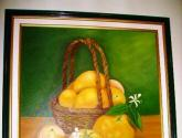 canasta de naranjas