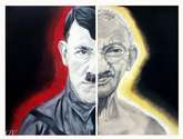 adolf hitler and mahatma gandhi