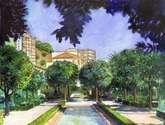 jardines del ayuntamiento de málaga