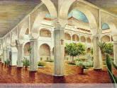 claustro del convento las claras